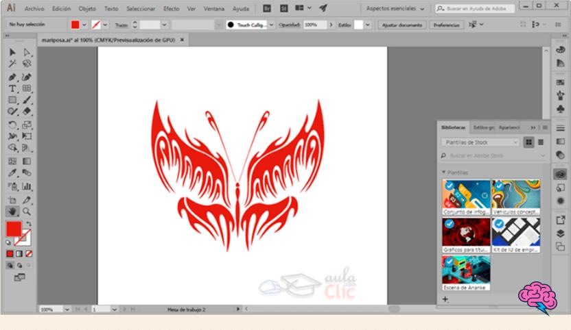 dibujo en vectores Manual Adobe Illustrator 2021 PDF